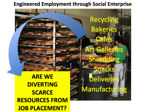 Agency-Owned Social Enterprises: Is It Draining Resources for Employment of People with Disabilities?