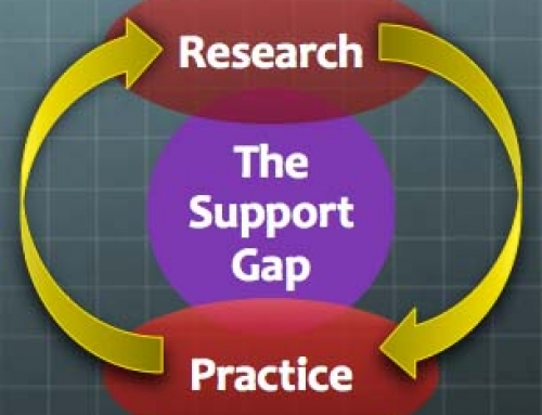 The Support Gap: Research to Practice and Back