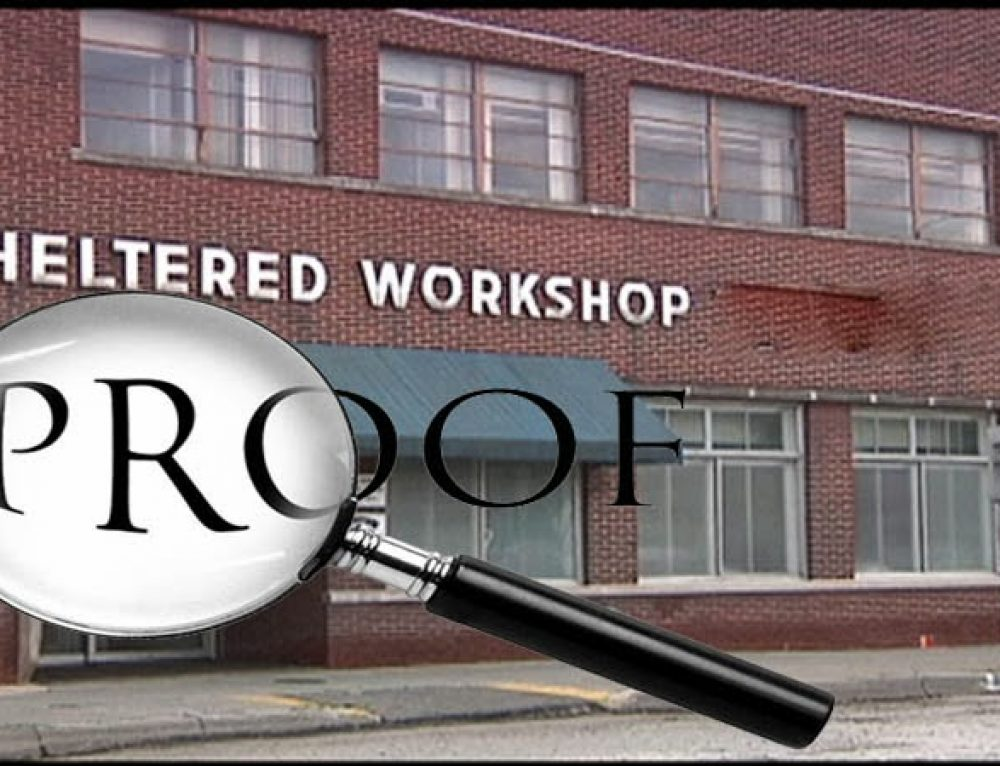 Workshops: The Burden of Proof is On You