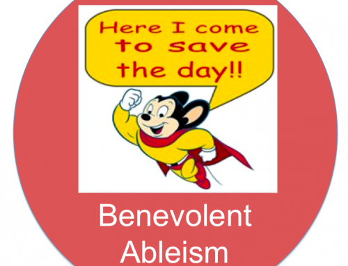 Benevolent Ableism: When Help Isn't Helping